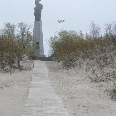 Памятник погибшим морякам и рыбакам