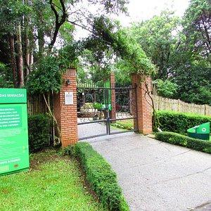O Jardim das Sensações fica no Jardim Botânico