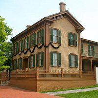 Lincoln's home in Springfield, IL