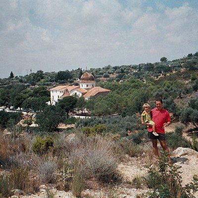 Ermita del Remei vista desde la Moleta