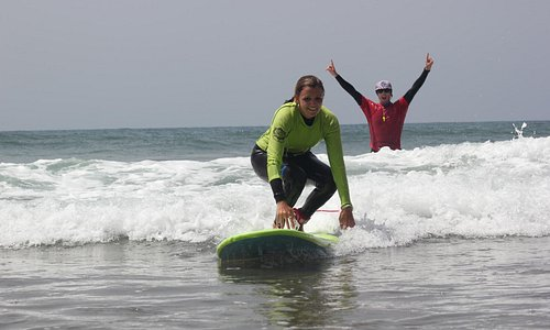 Happy Surfer - Happy Instructor :)