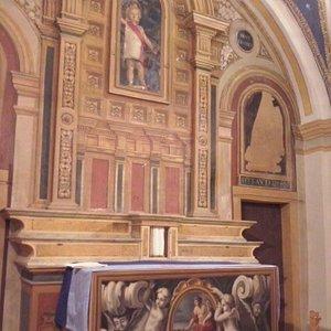 interno oratorio San Giovanni Battista