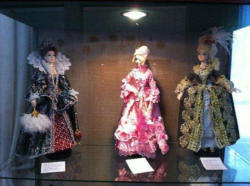 Выставка авторских кукол Веденеевой Ирины в мае 2014г