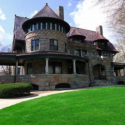 The History Museum owns and you can tour the J.D. Oliver Mansion