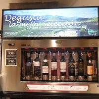 Wine sampling machine