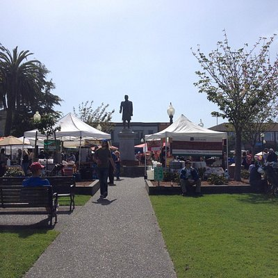 Also the Farmers' Market.