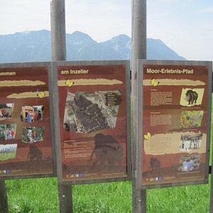 Il cartello che indica la  partenza dell'attrazione