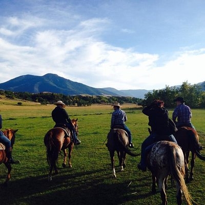 Horseback riding in Red Lodge, MT