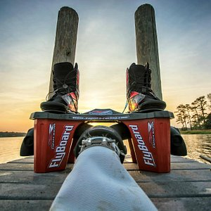 """""""Your chariot awaits!"""" The 2014 Flyboard by Franky Zapata."""