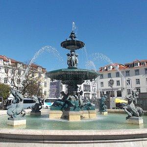 Lisboa, Portugal, Cidade Baixa.