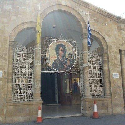 Sacred Temple Of Virgin Mary Faneromenis