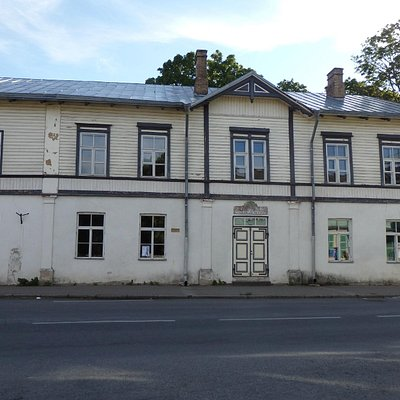 Facade of Evald Okase Muuseum