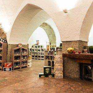 Der Shop im Paris-Lodron'schen Kellergewölbe