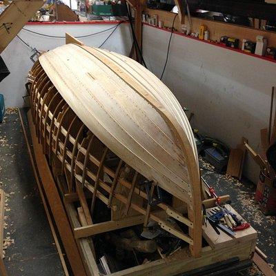 Boat in construction @ Artisan's Asylum