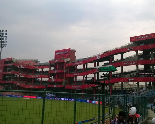 One of the stands of the stadium