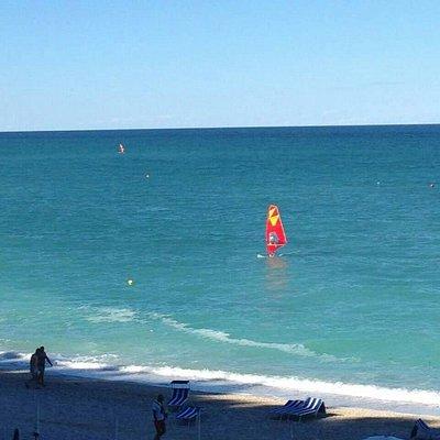 Posto perfetto! Relax e windsurf!