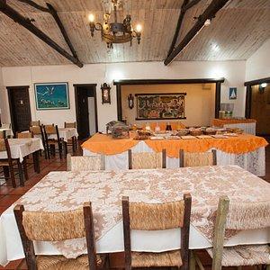 Breakfast Room at the Praia Mole Hotel