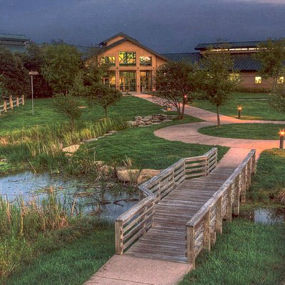 The Great Plains Nature Center glows with life. Photo by Thane Rogers.