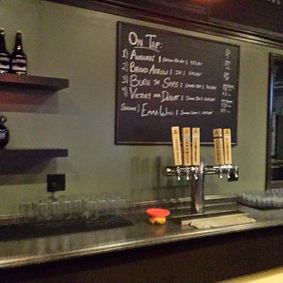 great growlers and taps (and beers)