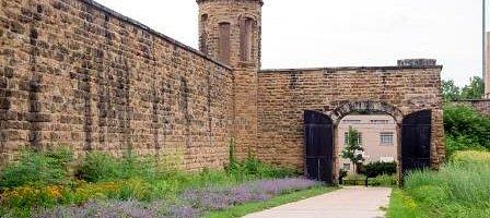 Michigan's First State Prison Wall