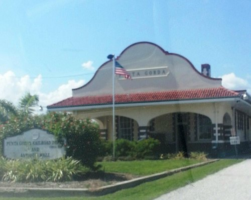 Front of the Depot