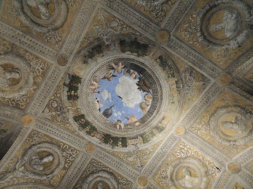 Il soffitto....