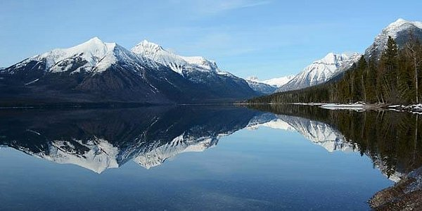 Lake McDonald, the jewel of Glacier's west side.