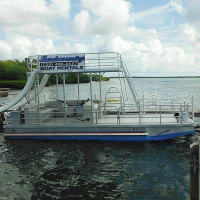 slide boat pic at Parmer's Resort