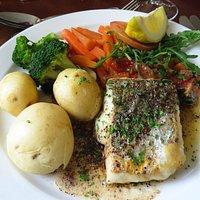 Great fish dinner!