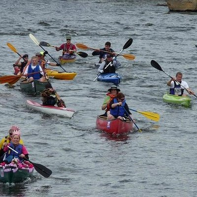 The Pole, Pedal, Paddle (PPP) race, Bend, Oregon