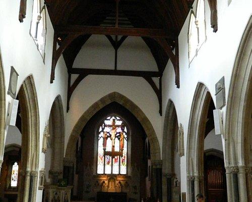 View down the Church