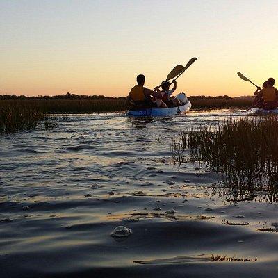 Rutas de kayak. Sunset