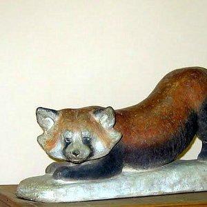 Малая, она же красная панда работы Ватагина. Вот он, пресловутый firefox!