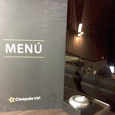 In theater dining
