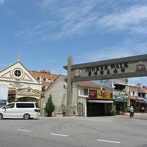 Tamil Methodist Church at end of Jonker street
