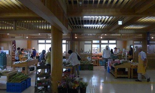 地元野菜の売店
