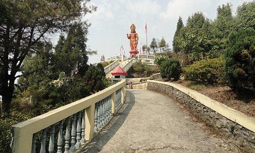 Big Hanuman statue
