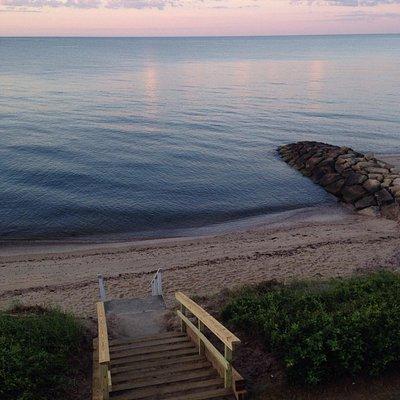 Great little beach.