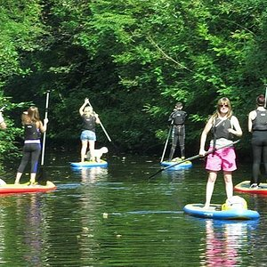 Paddling on the Drumshanbo Canal
