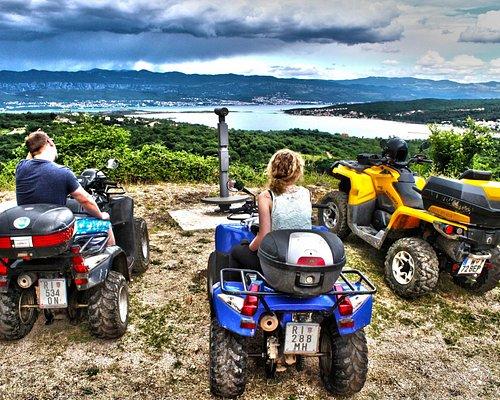 ATV & Quad Safari geführteTouren  Kroatien Krk Malinska quad kroatien 09