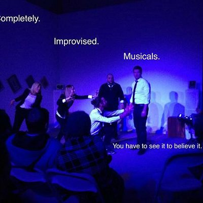 Boston's Unscripted Musical Project improvises one act musicals with their live band twice a mon