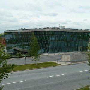 New railway station in Umea