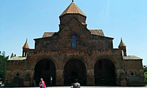 Saint Gayane Church in Vagharshapat, Armenia