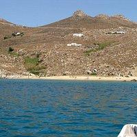 Παραλία Καλό Αμπέλι - Σέριφος.