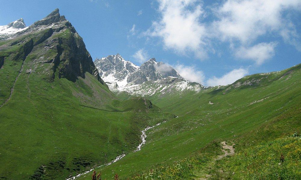 Mountains Pizol area