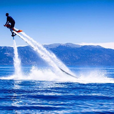 FLY HIGH OVER TAHOE TODAY WITH TAHOE JETOVATOR