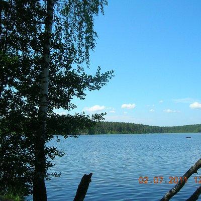Один из видов Щучьего озера