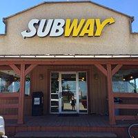 Subway in Nanton, AB