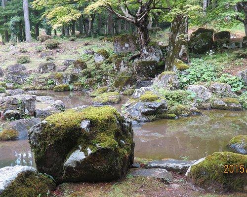 諏訪館跡庭園景観