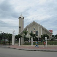 Biggest cathedral in Dili